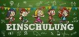 10 Einladungskarten zur Einschulung für Kinder | Einladungskarten Schulanfang Einladung Schulbeginn Schulkind Schule