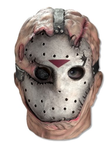 Jason Deluxe Mask Overhead Friday the 13th Movie Accessory