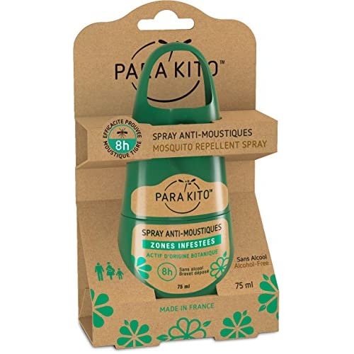 Para'Kito Mosquito & Tick Repellent Spray Effective, Safe and Reliable.
