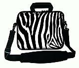 LUXBURG 17 Zoll Schultertasche Notebooktasche Laptoptasche Tasche mit Tragegurt aus Neopren für Laptop / Notebook Computer