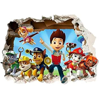 PAW PATROL Smashed Wall Stickers