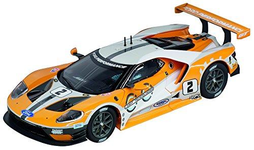 Carrera 20027547 Evolution Ford GT Race Car  No.02 (Slot Car Carrera 1 32)