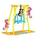 Original Jungle Gym Spielset, Gusspower Tragbare Affenstangen Klettergerüst, Bauen Sie Ihre eigenen Spielplatz erstellen, Gebäude und Steigen Affe DIY Haus, zufällige Farbe (90Pc) Vergleich