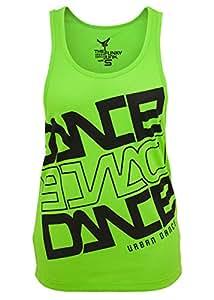 Urban Dance - DANCE MESH Débardeur neon vert