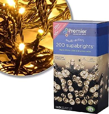 Premier Multi Action Supabrights Led Christmas Lights