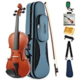 Best violini - Eastar EVA-1 4/4 Full-Size Violino Acustica Naturale di Review