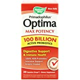 Nature's Way - Primadophilus Optima Max Potency 100 Billion Active Probiotiques 30 Vcaps