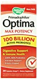 Nature's Way Primadophilus Optima Max Potency 100 Billion Vegetarian Capsules, 30 Count