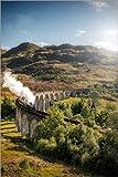 Poster 20 x 30 cm: Glenfinnan Viadukt in Schottland von
