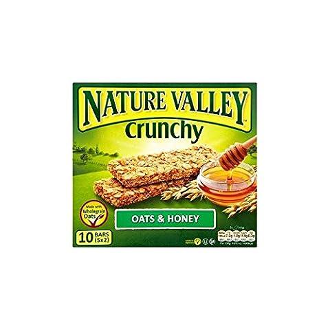 Nature Valley Bars Crunchy Granola - Avoine et miel (5x42g) - Paquet de 2