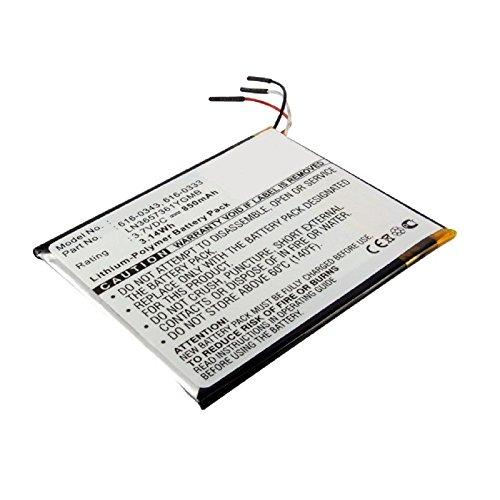 subtel® Qualitäts Akku kompatibel mit Apple iPod Touch 1 Gen. A1213 (850mAh) 616-0343 Ersatzakku Batterie