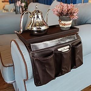 Likea Fernbedienungshalterung für das Sofa, Armlehnen Organizer, 19 cm x 15 cm x 30 cm