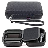 Digicharge Black Hard Carry Case For Garmin Zumo 595LM 396LMT-S 346LMT-S 395LM 345LM 590LM 340LM 390LM 300 346 396 4.3'' 5'' GPS Sat Nav With Accessory Storage and Lanyard