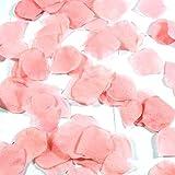 100 QUALITY CANDY PINK SILK ROSE PETALS CONFETTI/WEDDING