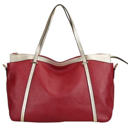 E-Girl Q0405 donna Borse a spalla,Borse a tracolla51x29x16 cm (B x H x T) Red