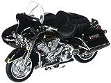 Maisto 76400 1998 Harley Davidson FLHT Electra Glide Standard with Side Car Black Motorcycle Model 1-18 Diecast Model by Harley-Davidson