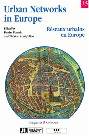 Réseaux urbains en Europe