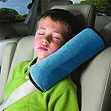 Treestar Cartoon kurz Plüsch Kind verstellbar Sicherheitsgurt Schulterschutz Baby Care Kissen Erwachsene Verwendung Kinder Auto schlafen Supplies blau