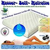 Firma Knowhow Al Agua Funda para colchón Soft LEEP 100x 200Cama colchón de Agua para somier