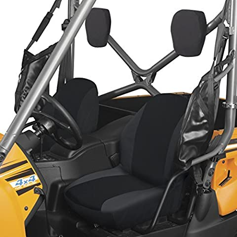 Classic Accessories 18-144-010403-00 Black QuadGear UTV Bucket Seat Cover by Classic Accessories