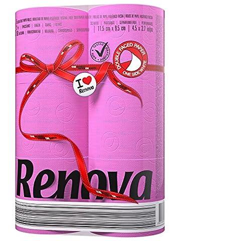Label Rouge - Papier toilette Renova Rouge Label anval Étui
