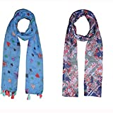 Dream Fashion Combo Pack of 2 Scarf, Stole For women