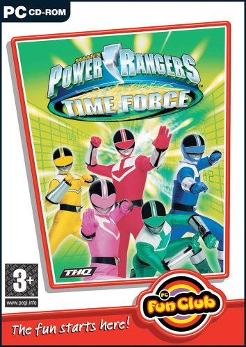 pc-fun-club-power-rangers-time-force-pc-cd-importado