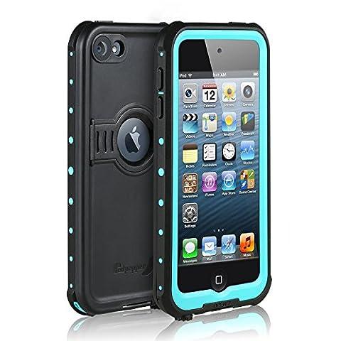 Merit Knight Wasserdichte iPod 6/iPod 5 Hülle,Apple iPod Touch 5th/6th Generation Case Staubdicht,Schneedicht Schutzhülle Waterproof Case