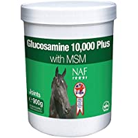 NAF Glucosamine 10,000 Plus With MSM Horse Joint Supplement, 900 g