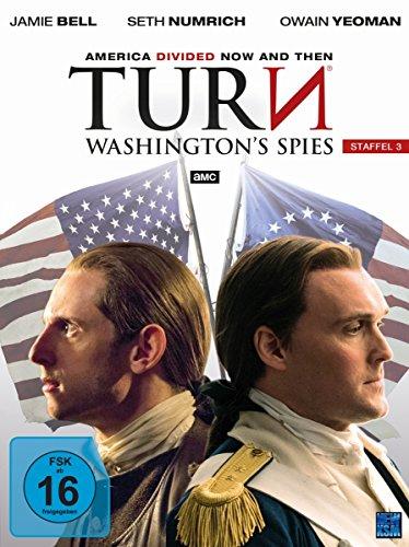 Turn: Washington's Spies - Staffel 3 [4 DVDs]