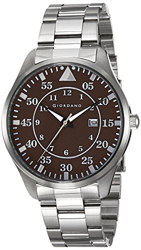 Giordano Analog Brown Dial Men's Watch - 1771-22 image