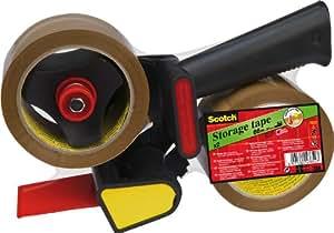 Scotch Devidoir avec frein 180 + 2 rlx adhésifs Acrylique Havane 50mm x 66m