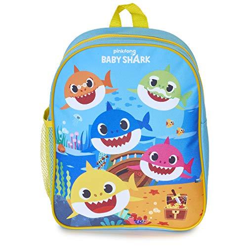 Pinkfong Zaino Baby Shark | Zainetto Bambino Musicale Baby Shark Ufficiale, Zaino Asilo Per Scuola Elementare, Materna, Nido Con Melodia