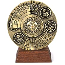 Perpetuo calendario - Hemispherium antiguo científico instrumento
