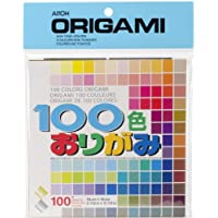 """Aitoh Origami Paper 5.875""""X5.875"""" 100 Sheets-Assorted Colors"""