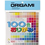 Origami Paper, 15 by 15-Cm, 100 Colors, ...