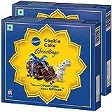 Pillsbury Cookie Cake - Greetings Gift Pack, 240g x 2, 480g