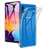 A-VIDET Hülle für Samsung Galaxy A50 Ultra Dünn Durchsichtige Handyhülle Soft Flex Silikon TPU Case Cover für Samsung Galaxy A50 - Transparent