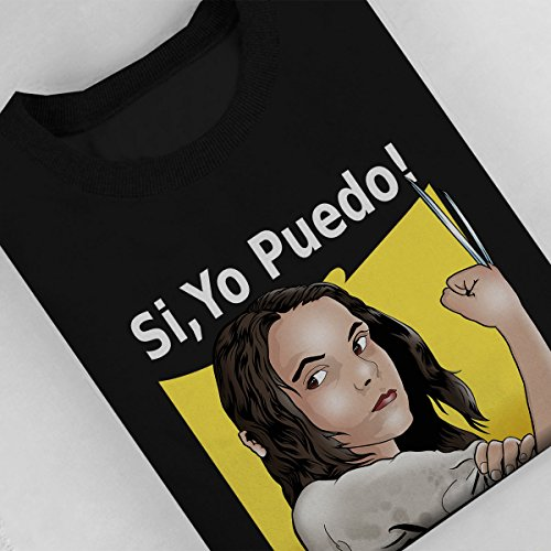 Mutie Riveter Laura Logan X Men Spanish Women's Sweatshirt Black