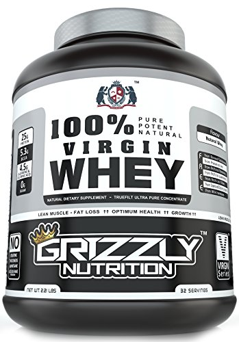 Grizzly Nutrition Virgin Whey Protein (1KG)