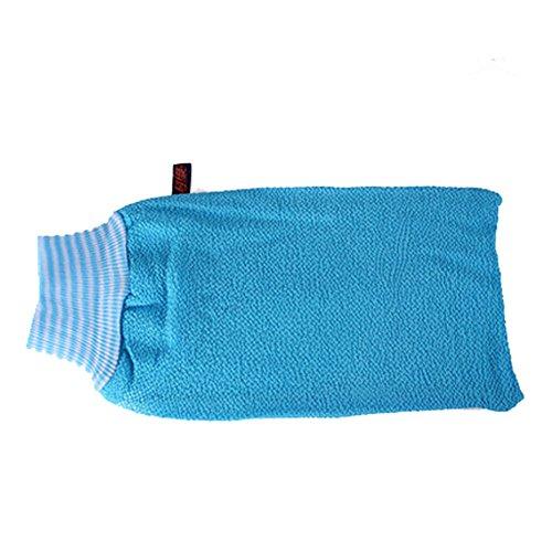 Serviette Exfoliant Retour laveur mousseux Éponge Bath Bleu