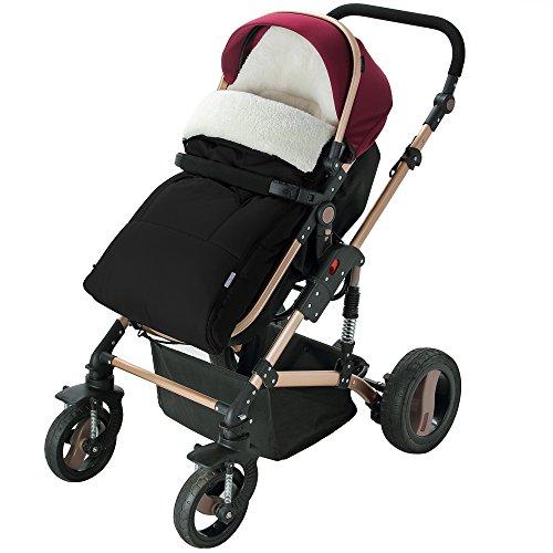 Chancelière sac pour bébé - convient pour poussette landau siège auto