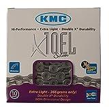 KMC Fahrradkette X-10-EL Schaltungskette silber