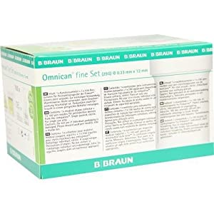 OMNICAN fine Set 29 G, 0,33 x 12 mm (100 Stck.+ Omnican Box) by B Braun