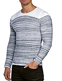 Pull Pullover Tricoté Pour Homme Tricot D'hiver Veste tricotée Carisma CRSM à manches longues Clubwear Shirt À Manches Longues Sweat Chemise pull Kosmo Japan Style Coupe Look