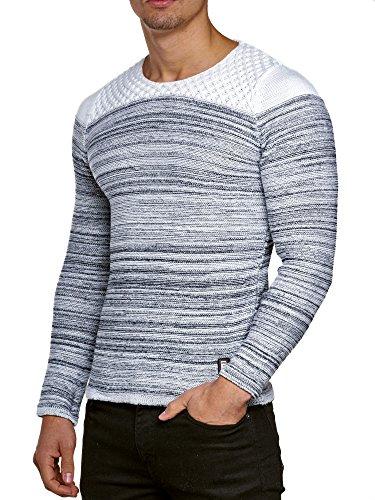 Pullover Herren Strickpullover Winter Strick Strickjacke Carisma CRSM  Longsleeve Clubwear Langarm Shirt Sweatshirt Hemd Pulli Kosmo 732a6e0cab