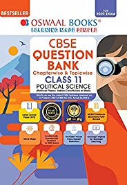 Oswaal CBSE Question Bank Class 11 Political Science Book Chapterwise & Topicwise (For 2022 E