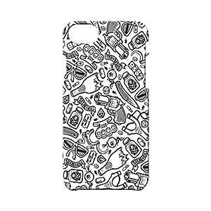 BLUEDIO Designer Printed Back case cover for Apple Iphone 7 - G4505