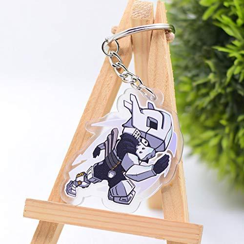 Inveroo Schicksal Nacht Schlüsselanhänger Stay Night Cross Schlüsselanhänger Hot Anime Schlüsselanhänger Anhänger Chaveiro Schmuck -