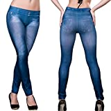 #3: Siddhi Collection Lunnching New Arraival For Special Girls And Women Denim Look Low Rate Legging For All And Free Size :- size :- M , L , XL , XXL